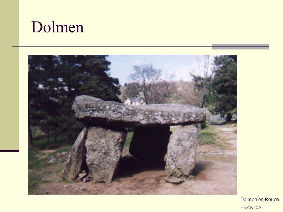 Dolmen Dolmen en Rouen FRANCIA