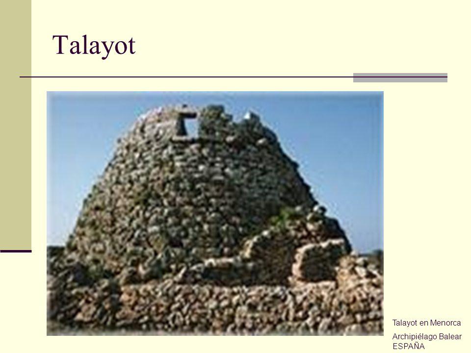 Talayot Talayot en Menorca Archipiélago Balear ESPAÑA