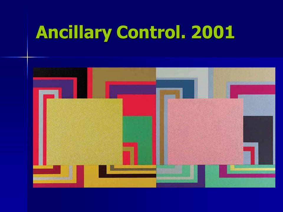 Ancillary Control. 2001