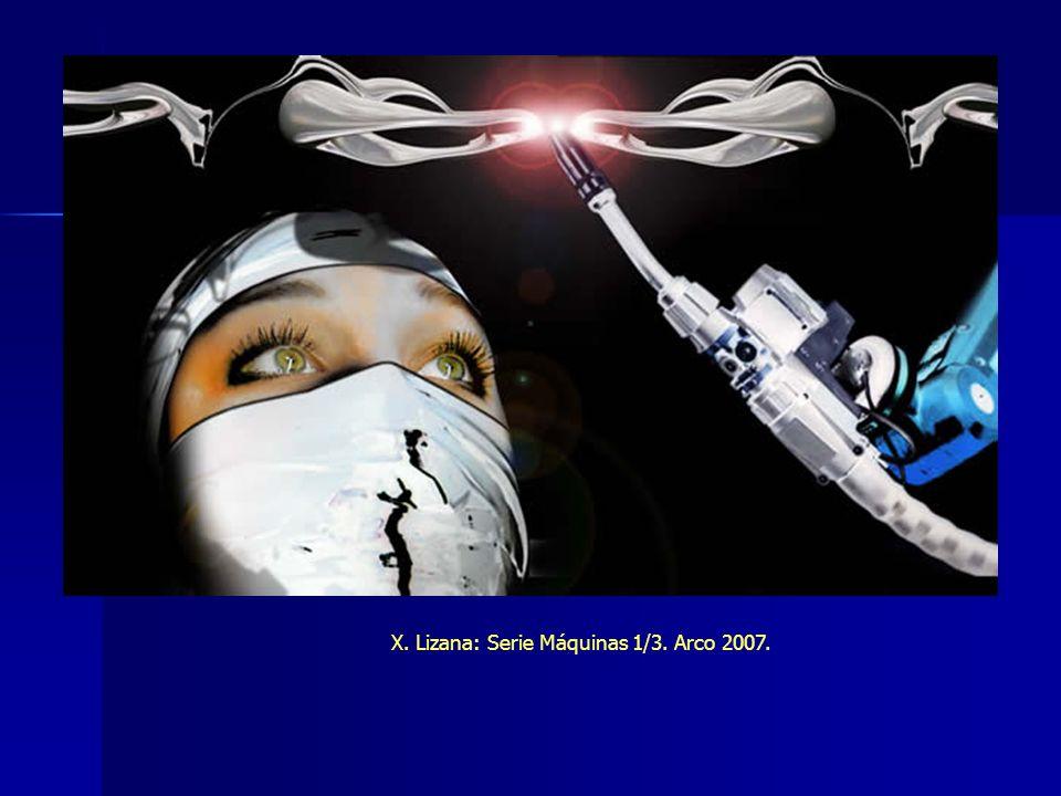 X. Lizana: Serie Máquinas 1/3. Arco 2007.