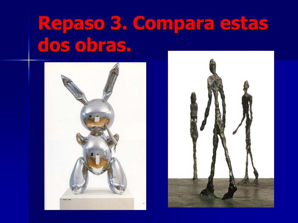 Repaso 3. Compara estas dos obras.