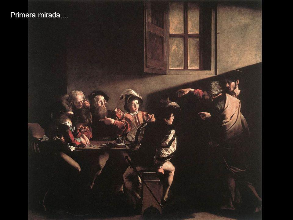 San Mateo y el ángel, 1602. Óleo sobre lienzo. Divergencias en el tratamiento Del mismo tema.