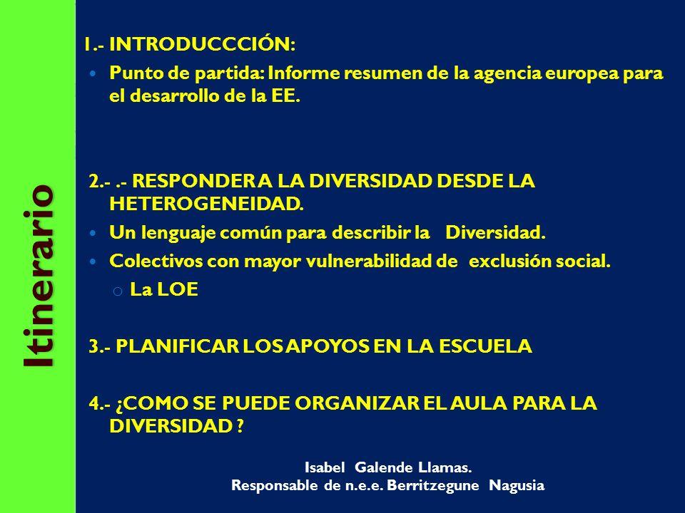 METAS ORGANIZACIÓN DE LOS RECURSOS MÁS PRÓXIMOS