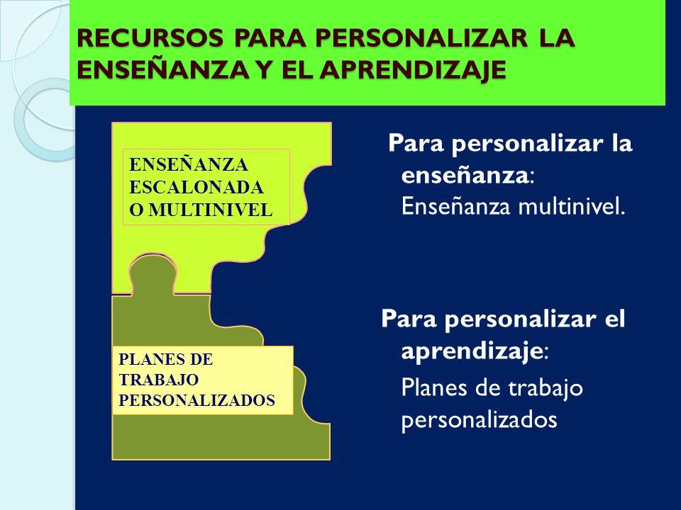 1.Tener presentes los Objetivos Generales de la educación. 2.Determinar lo que es realmente básico e importante para todos los alumnos/as. Establecer