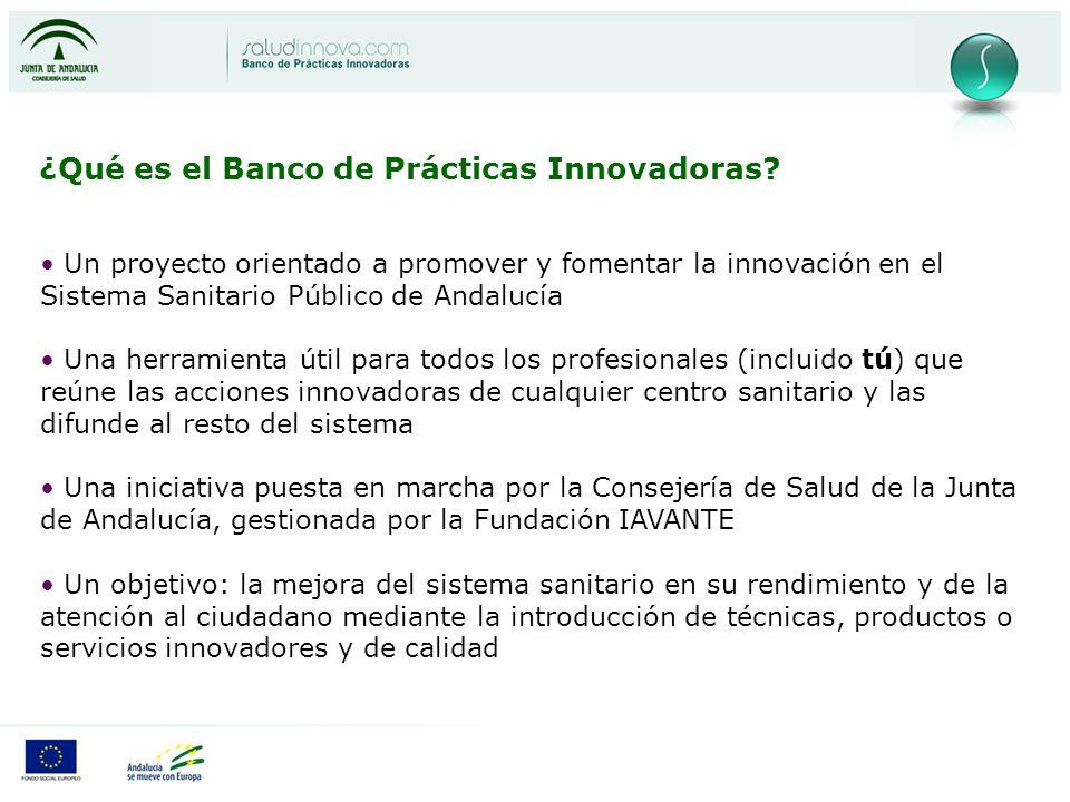 ¿Qué es el Banco de Prácticas Innovadoras.