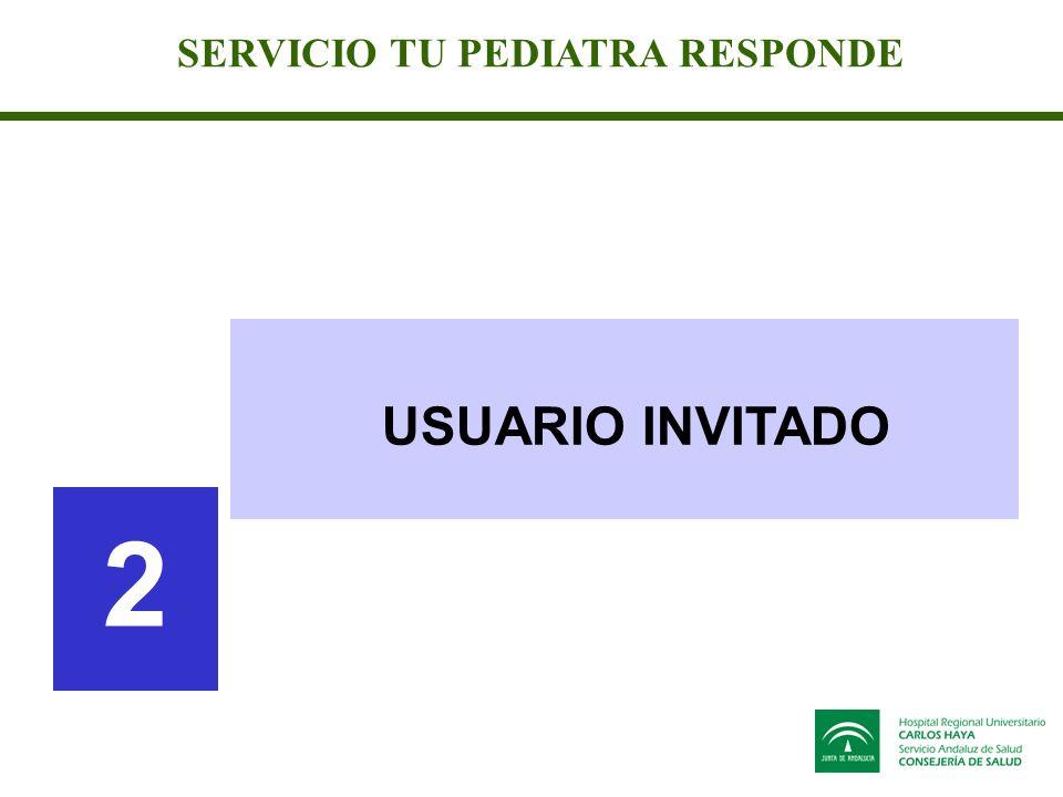 SERVICIO TU PEDIATRA RESPONDE USUARIO INVITADO 2