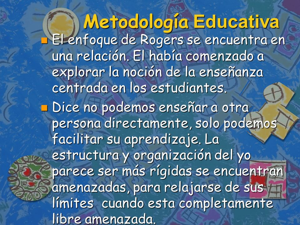 La situación educativa que promueve más eficazmente un aprendizaje significativo es aquella en la: n Amenaza a la propia del alumno se reduce como mínimo.