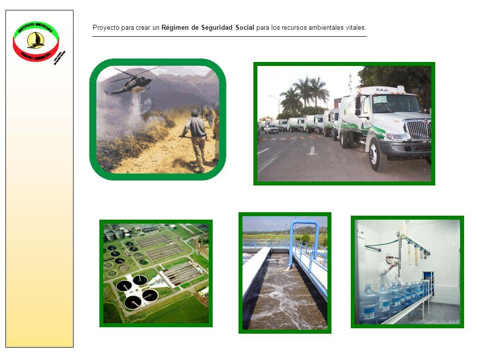Proyecto para crear un Régimen de Seguridad Social para los recursos ambientales vitales.
