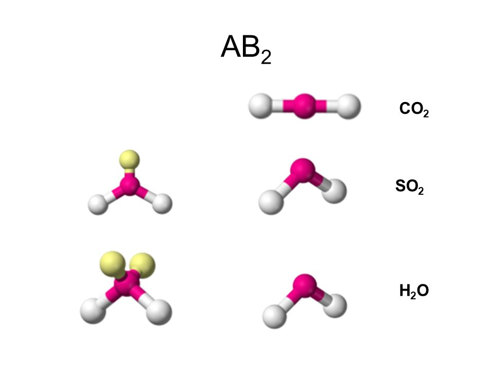 AB 3 BF 3 NH 3 ClF 3