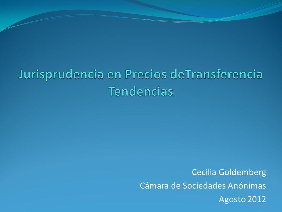 Cecilia Goldemberg Cámara de Sociedades Anónimas Agosto 2012