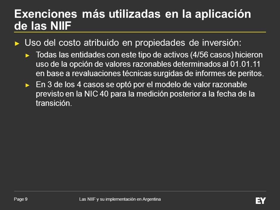 Page 20 Impacto promedio de la implementación de las NIIF sobre el patrimonio abierto por naturaleza de AT (por sectores y total - sin PNC - antes de ID) Las NIIF y su implementación en Argentina Impacto promedio de las NIIF sobre el patrimonio y el resultado neto