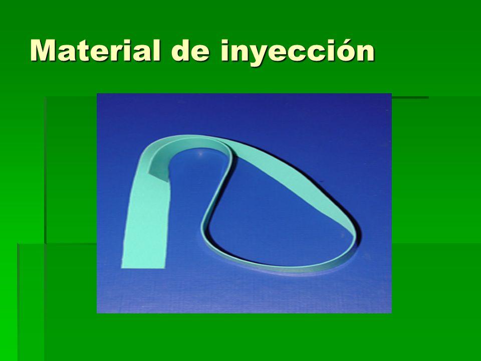 Material de inyección