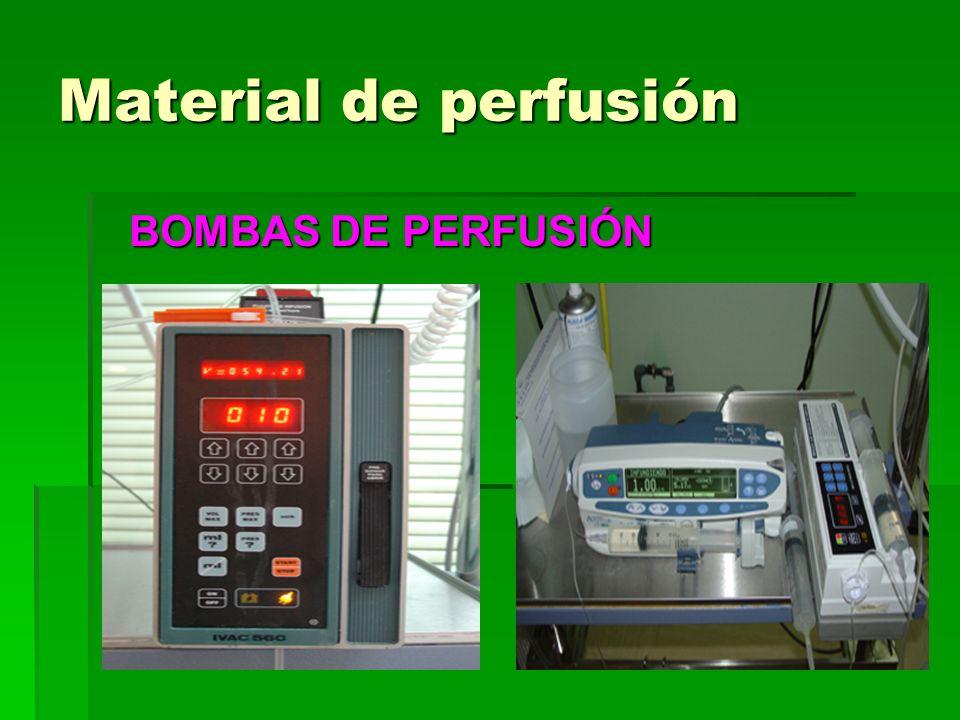 Material de perfusión BOMBAS DE PERFUSIÓN
