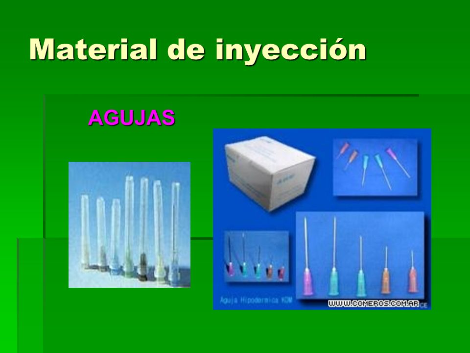 Material variado AMBÚ Utilizado para ayudar en casos de respiración asistida.