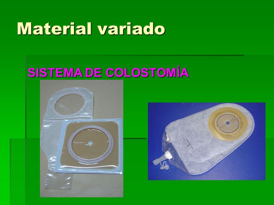 Material variado SISTEMA DE COLOSTOMÍA