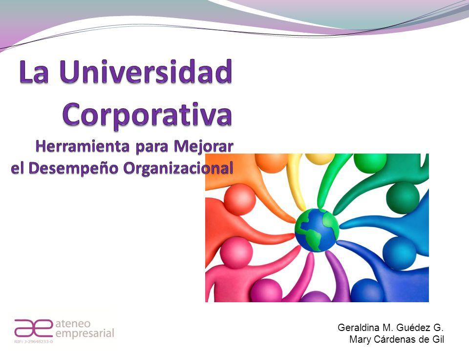 Geraldina M. Guédez G. Mary Cárdenas de Gil
