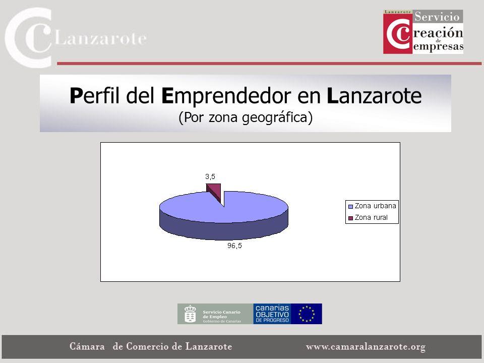 Perfil del Emprendedor en Lanzarote (Por zona geográfica)