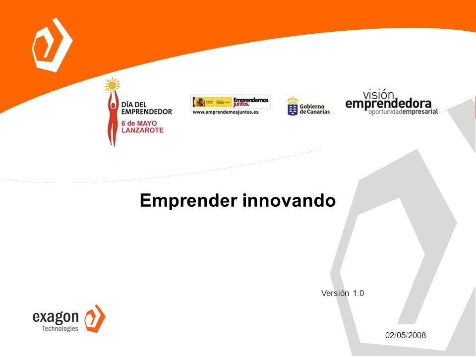 Emprender innovando 02/05/2008 Versión 1.0