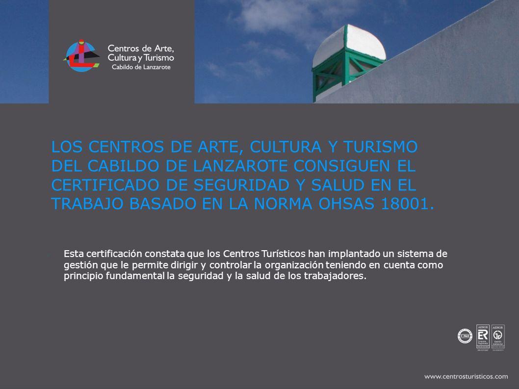 Los Centros de Arte, Cultura y Turismo son una Entidad Pública dependiente del Cabildo de Lanzarote.