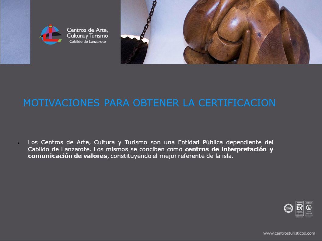 Los Centros de Arte, Cultura y Turismo son una Entidad Pública dependiente del Cabildo de Lanzarote. Los mismos se conciben como centros de interpreta