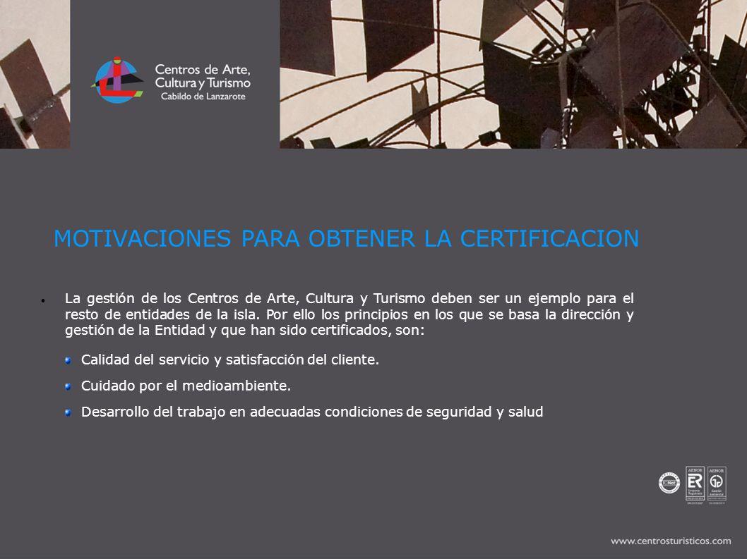 La gestión de los Centros de Arte, Cultura y Turismo deben ser un ejemplo para el resto de entidades de la isla. Por ello los principios en los que se