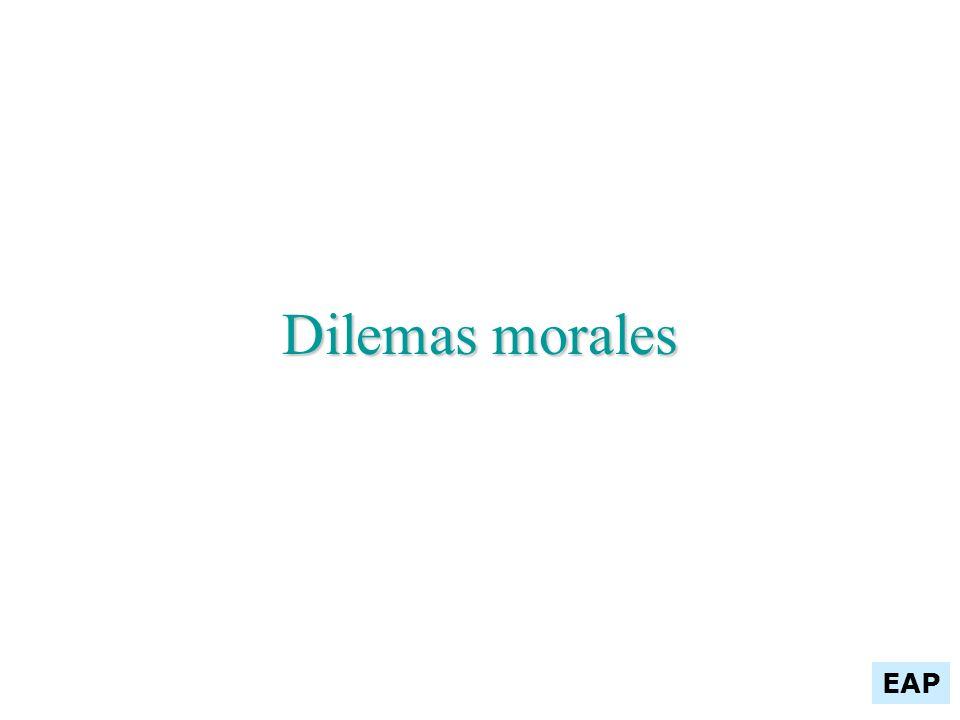 Dilemas morales EAP