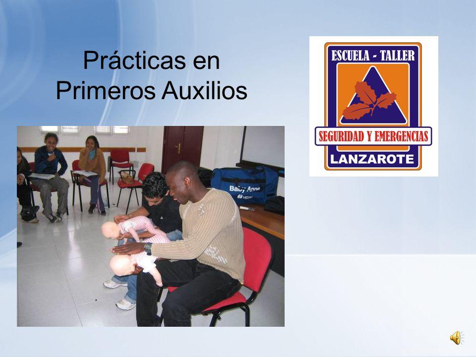 PRACTICAS DE PRIMEROS AUXILIOS