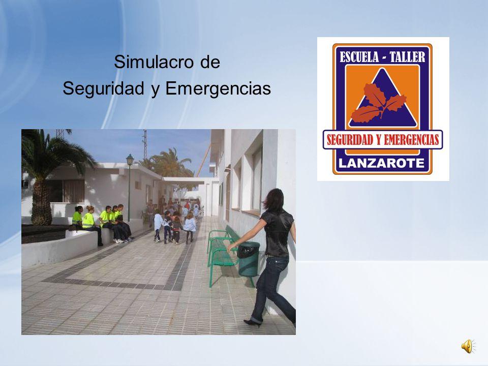 Simulacro de Seguridad y Emergencias