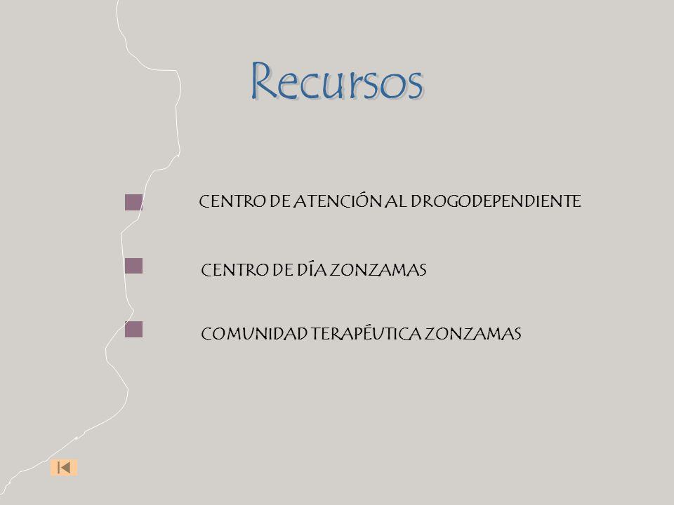 CENTRO DE ATENCIÓN AL DROGODEPENDIENTE CENTRO DE DÍA ZONZAMAS COMUNIDAD TERAPÉUTICA ZONZAMAS