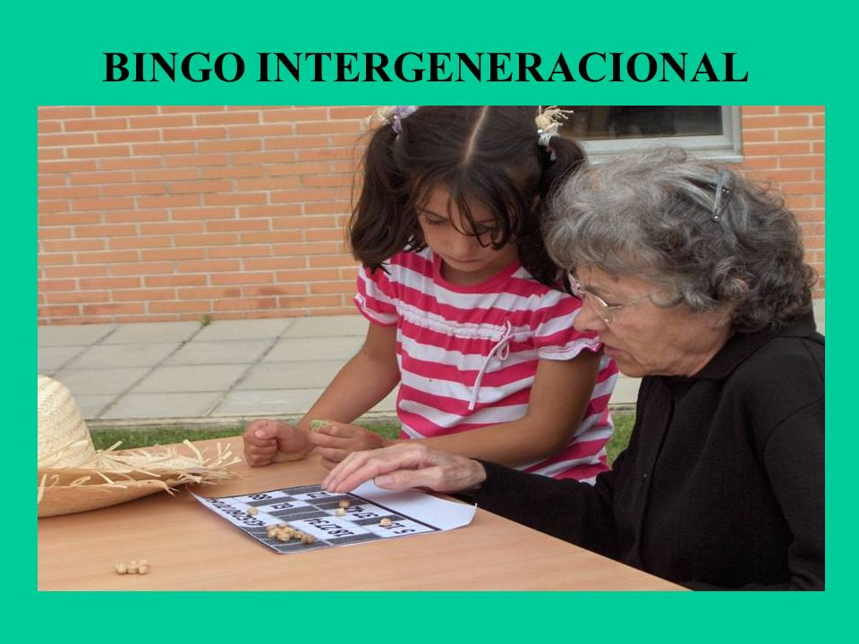 BINGO INTERGENERACIONAL
