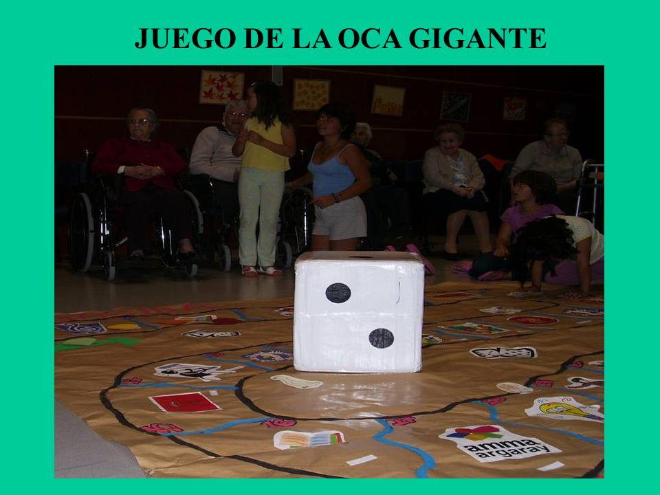 JUEGO DE LA OCA GIGANTE