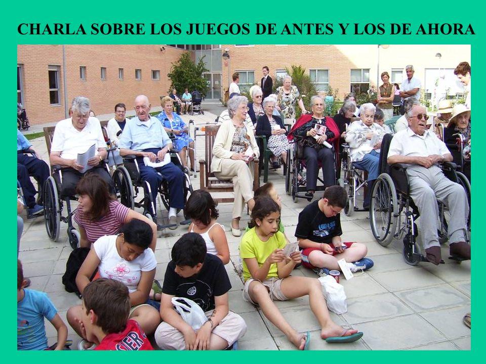 CHARLA SOBRE LOS JUEGOS DE ANTES Y LOS DE AHORA