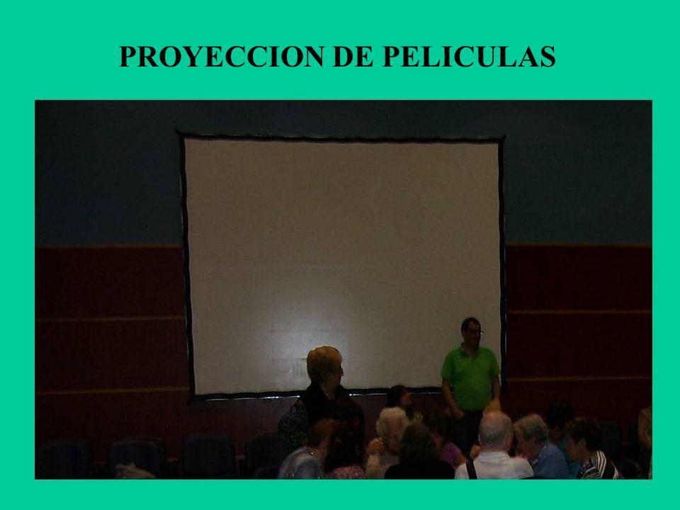 PROYECCION DE PELICULAS