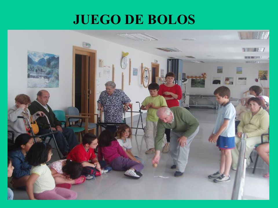 JUEGO DE BOLOS