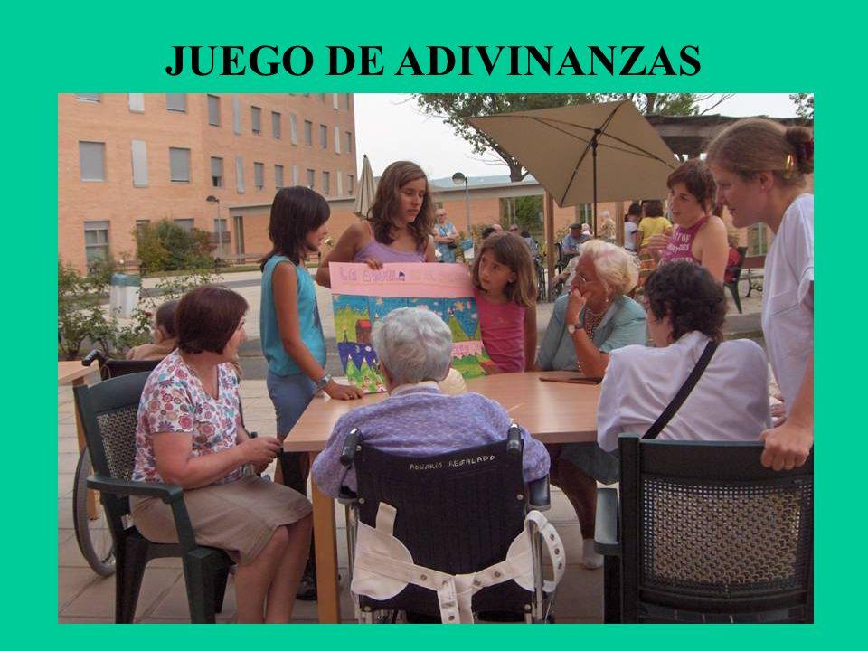 JUEGO DE ADIVINANZAS