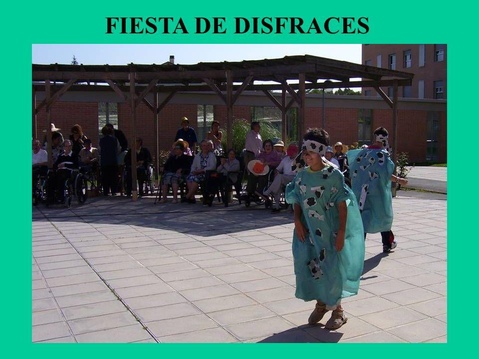 FIESTA DE DISFRACES