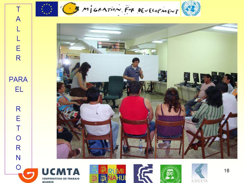 Se ha llevado a cabo el diseño de itinerarios individualizados de inserción a 151 personas inmigrantes ecuatorianas que buscan empleo.