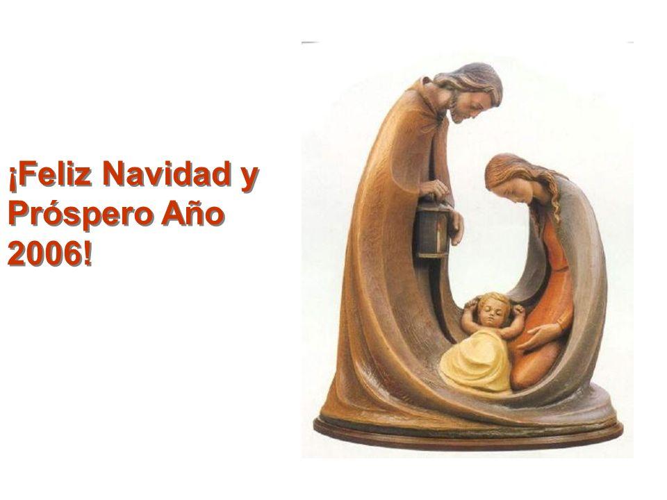 ¡Feliz Navidad y Próspero Año 2006!