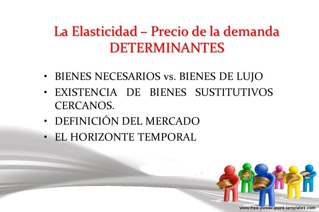 OFERTA PERFECTAMENTE ELÁSTICA ELASTICIDAD = INFINITO Cantidad Precio oferta $4 1.
