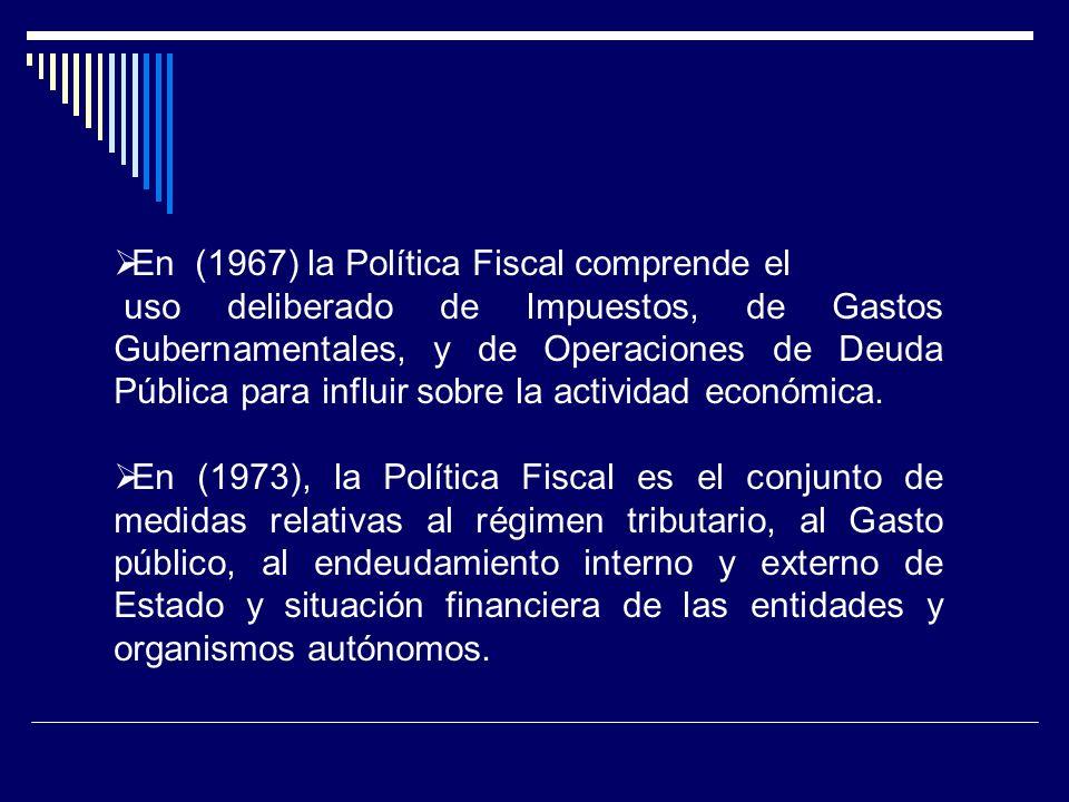 DIFERENCIA ENTRE POLÍTICA FISCAL Y POLÍTICA MONETARIA