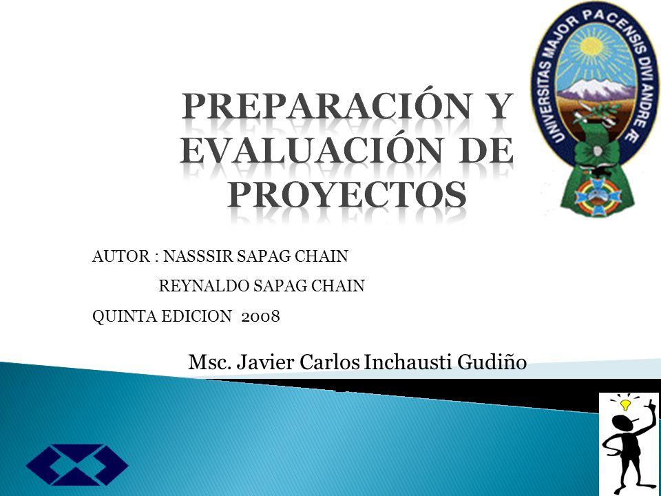 Capítulo 13 BENEFICIOS DEL PROYECTO