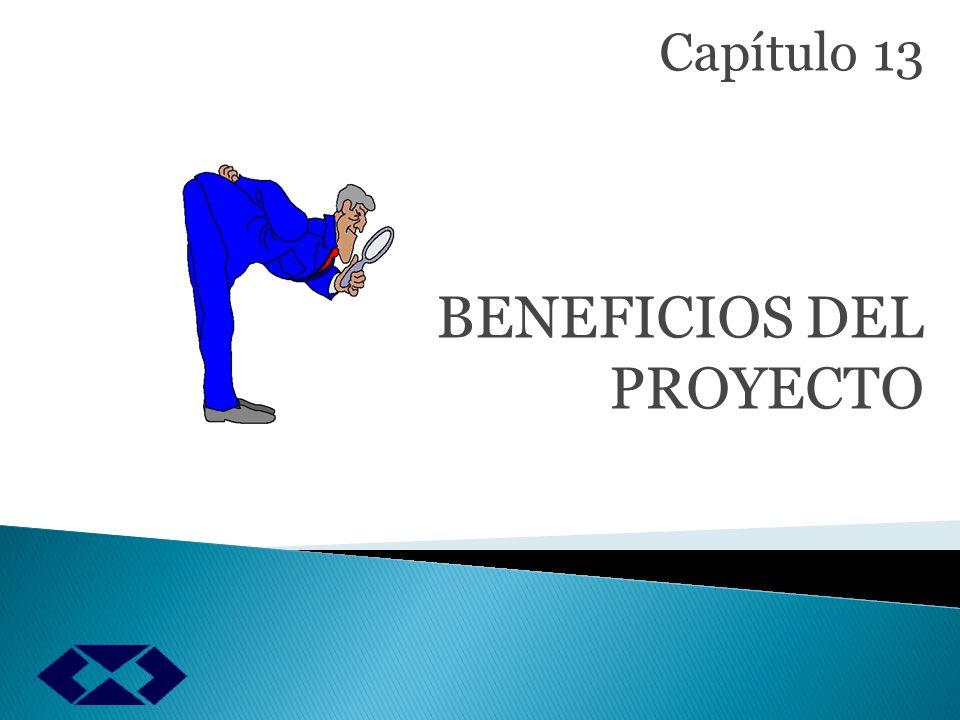 Los ingresos como los beneficios Se analizan: Los beneficios que pueden asociarse con un proyecto de inversión BENEFICIOS DEL PROYECTO