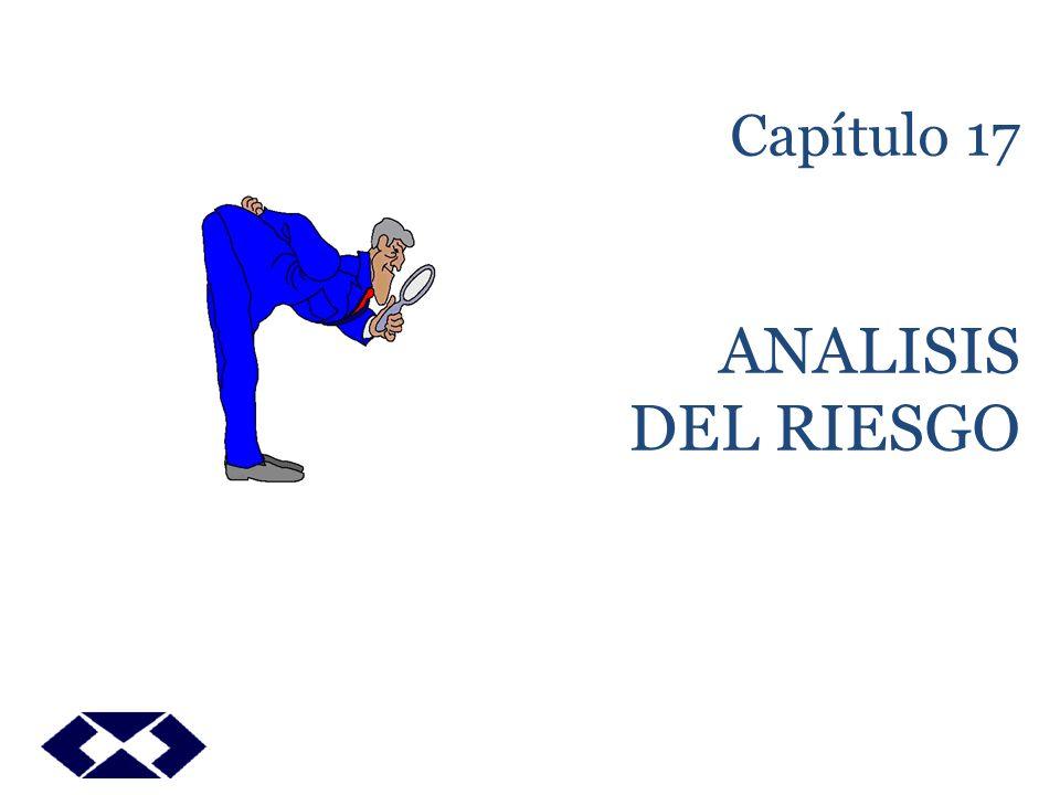 ANALISIS DE RIESGO OBJETIVO El objetivo de este capitulo es analizar el problema de la medición del riesgo en los proyectos y los distintos criterios para su inclusión y análisis para su evaluación.