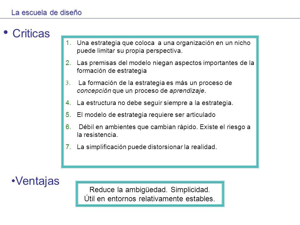 LA ESCUELA COGNOSCITIVA El trabajo de la escuela cognoscitiva es comprender el conocimiento humano para entender la mente del estratega.
