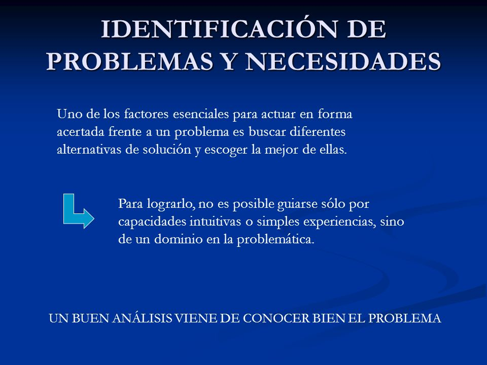 CONTENIDO DE LOS PROYECTOS 1.