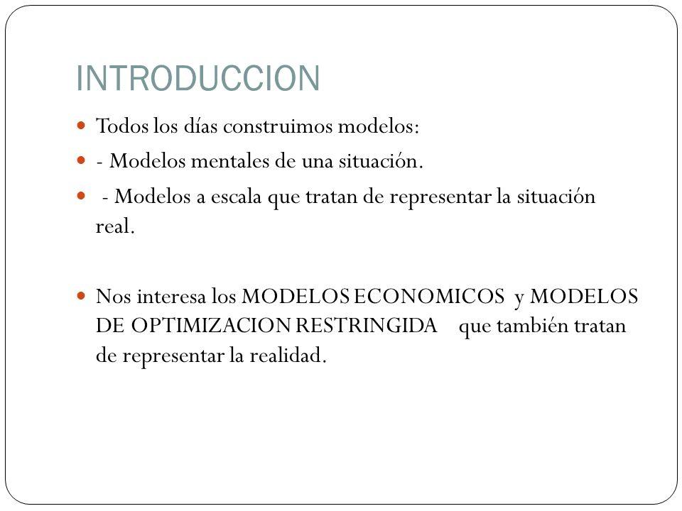 Un modelo matemático de decisión, por muy bien formulado que esté, no sirve de nada sino podemos encontrar una solución satisfactoria.