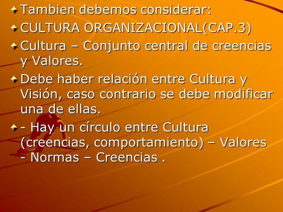 Modelos de Cultura según Deal y Kennedy (1982): -Cultura Machista, riesgo, individualista, industria del cine, publicidad.