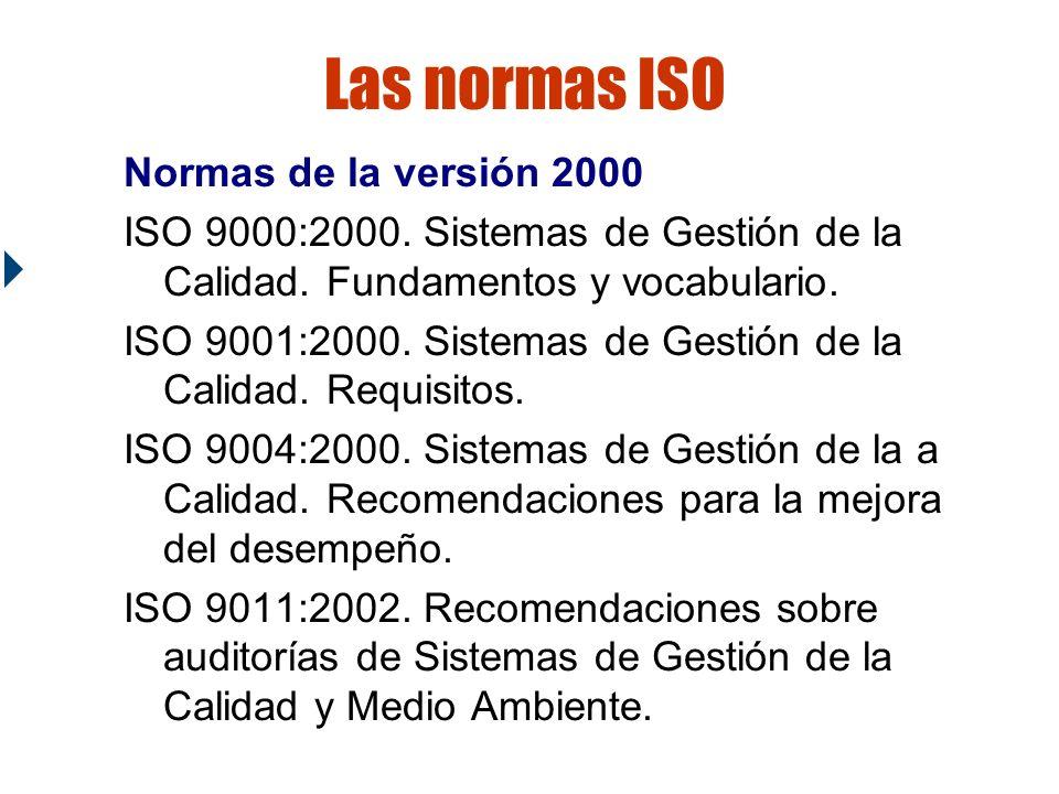 Fundamentos de la ISO 9000