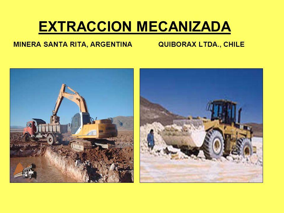 EXTRACCION MECANIZADA MINERA SANTA RITA, ARGENTINA QUIBORAX LTDA., CHILE