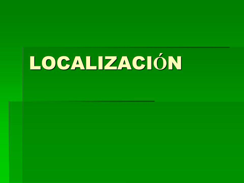 LOCALIZACI Ó N